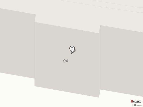 Ясиноватская центральная библиотека на карте Ясиноватой
