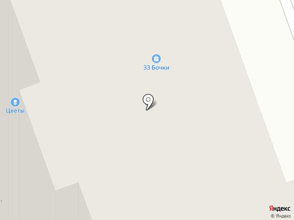 33 бочки на карте Реутова