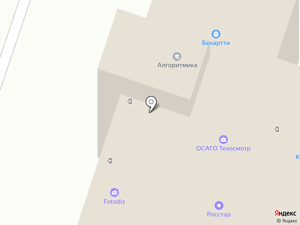 Пелас на карте Люберец