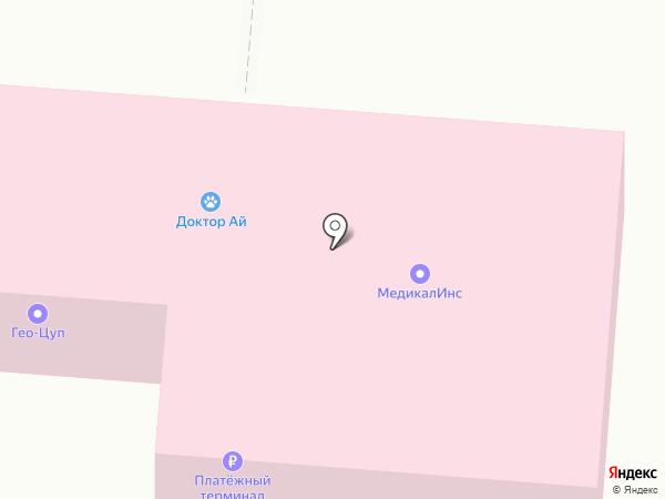 ГЕО-ЦУП, ЗАО на карте Королёва
