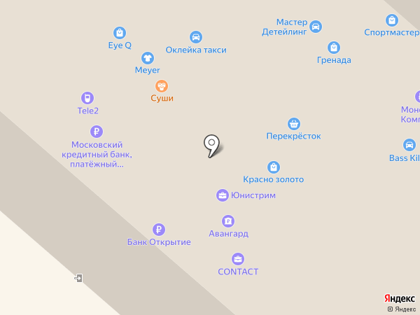Парикмахерский на карте Люберец