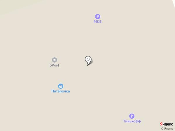 Магнит у Дома на карте Реутова