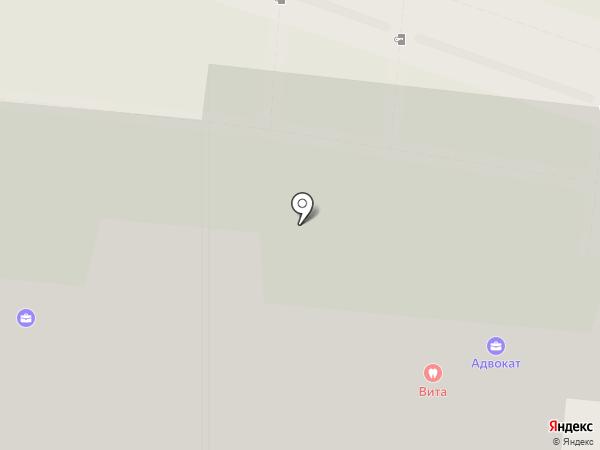 Вита на карте Люберец