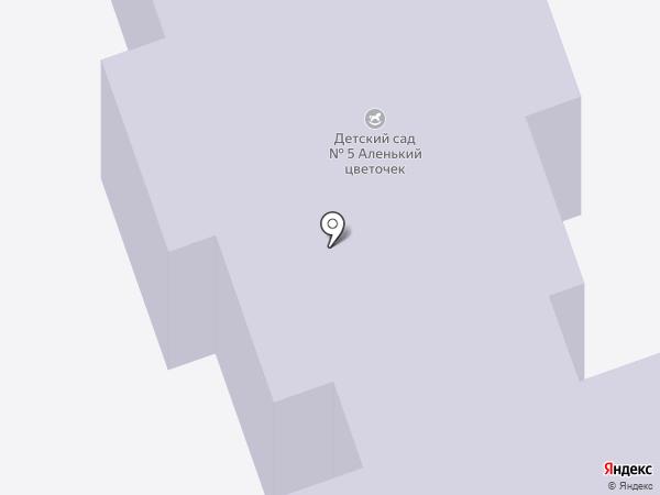 Детский сад №5 на карте Реутова
