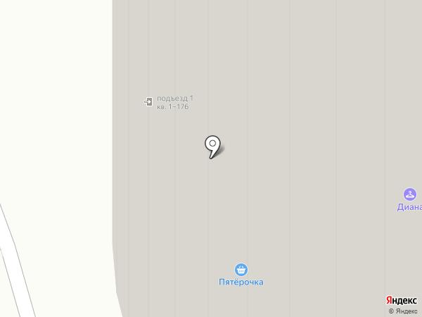 Бритва на карте Реутова