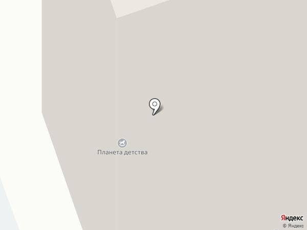 Математический центр на карте Реутова