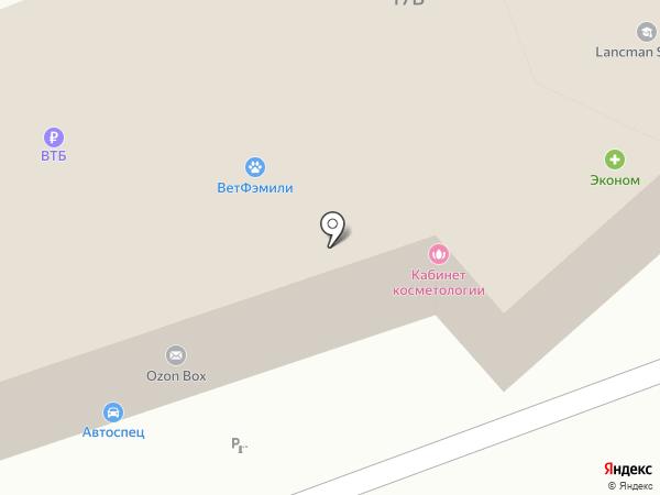 ТЕХНАРИ на карте Реутова