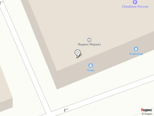 Азрос на карте Реутова