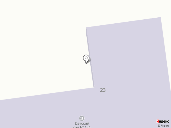 Ясли-сад №154 на карте Макеевки