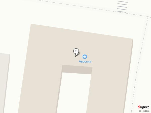 Магазин автотоваров на карте Ясиноватой