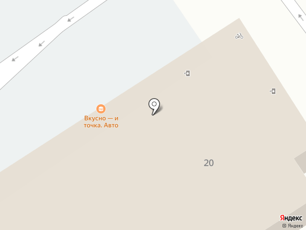 McDonald`s на карте Старого Оскола