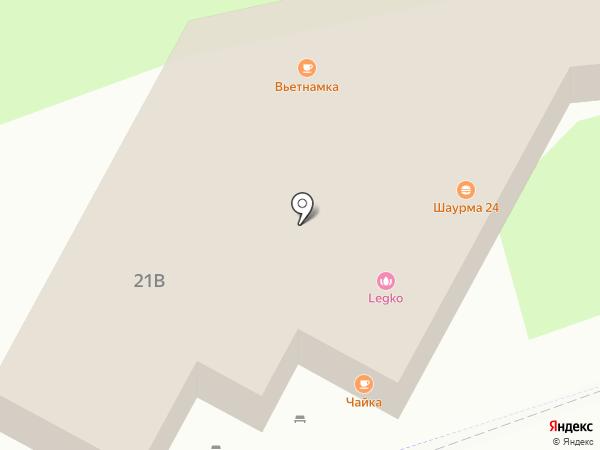 Горячие лепешки на карте Реутова