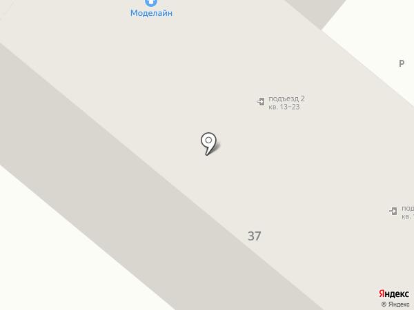 Моделайн на карте Люберец