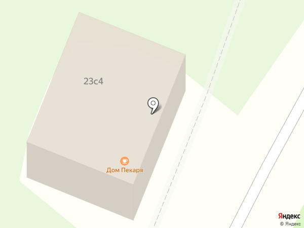 Дом Пекаря на карте Орлово