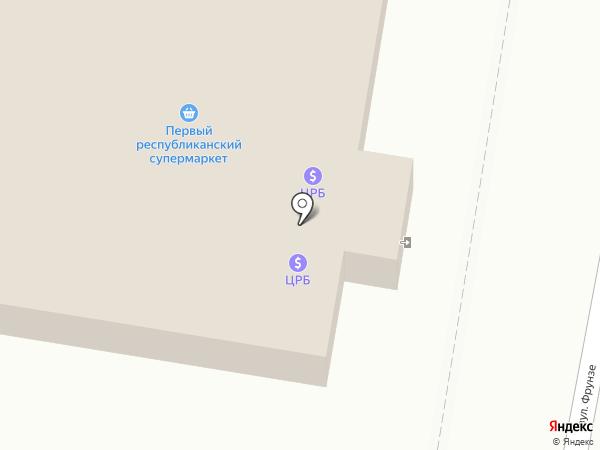 Первый Республиканский на карте Ясиноватой
