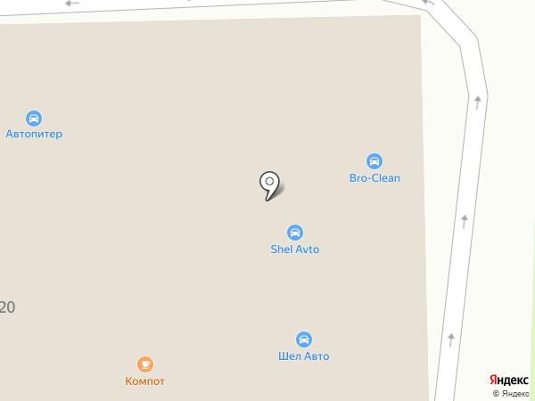 FordLine на карте Старого Оскола