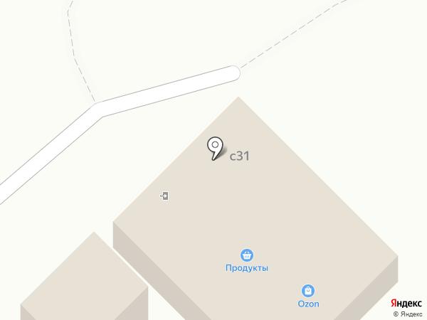Магазин продуктов на карте Вельяминово