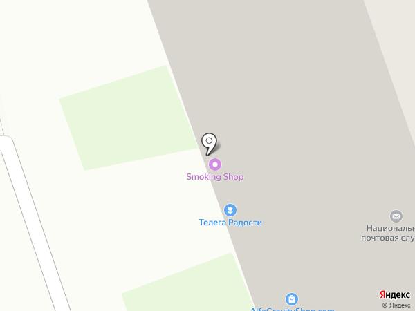 Кефирбатон на карте Реутова