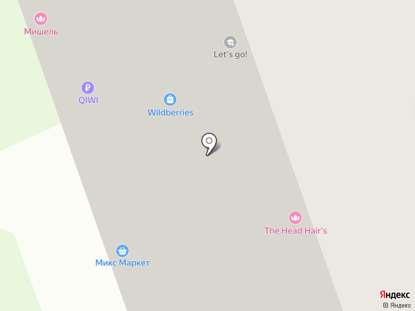 Новокосино на карте Реутова