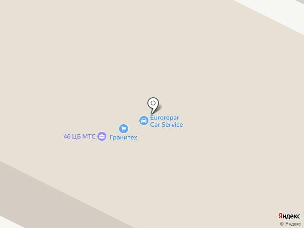 АМД на карте Реутова