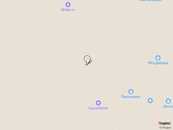 Аквафор на карте Пушкино