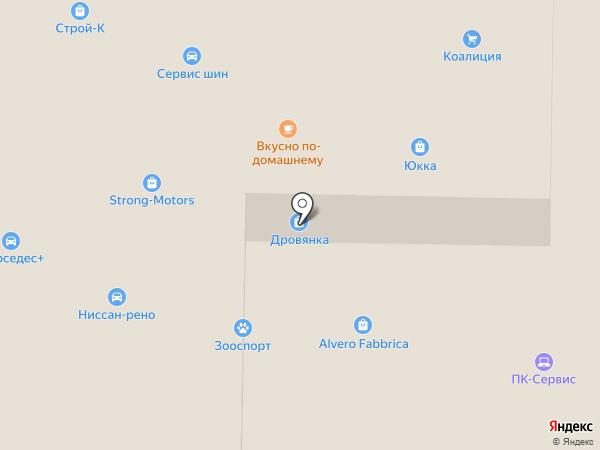 Антенный Мир на карте Пушкино