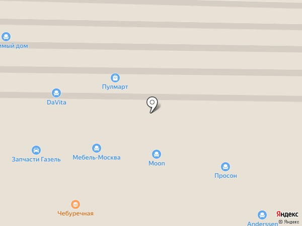 Дверная мануфактура на карте Пушкино