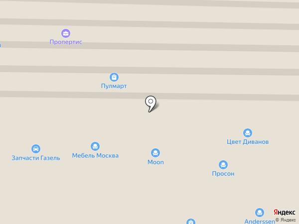 Королёвская ковка на карте Пушкино