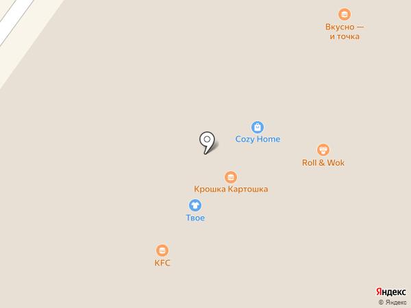 ТВОЕ на карте Люберец