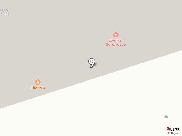 Пробка на карте Балашихи