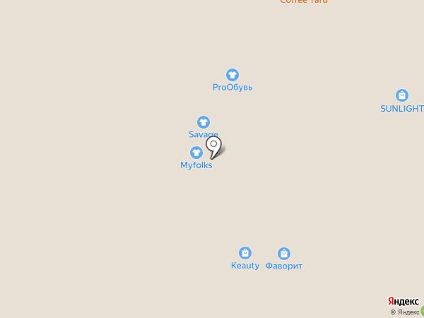 I & V сезона на карте Люберец