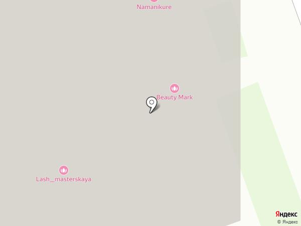 Моя кружка на карте Реутова