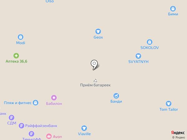 Злата Мода на карте Люберец