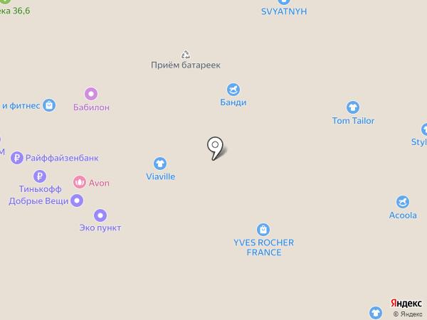 Lavira на карте Люберец