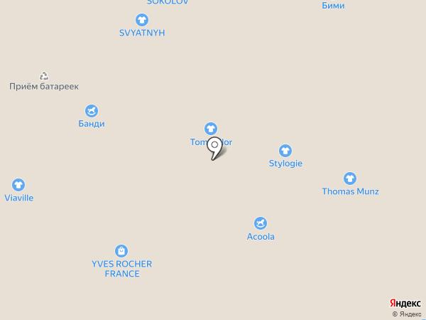 Книжный Лабиринт на карте Люберец