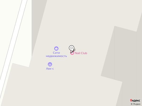 Городок Сити на карте Люберец