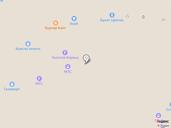 МТС на карте Люберец