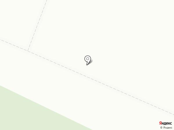 Кавезенское кладбище на карте Ивантеевки