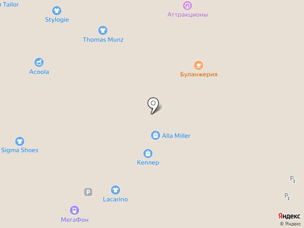 Acoola Kids на карте Люберец