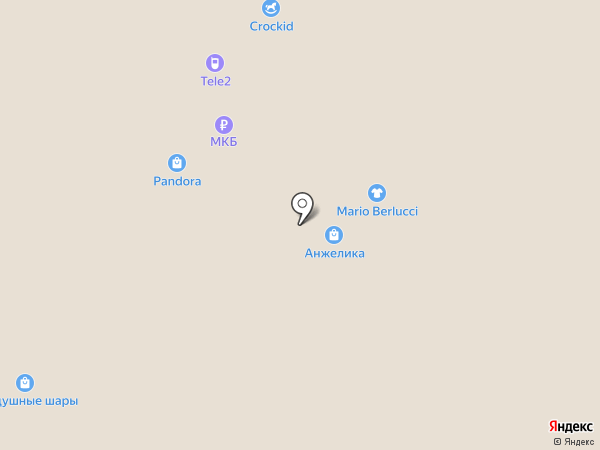 Pandora на карте Люберец