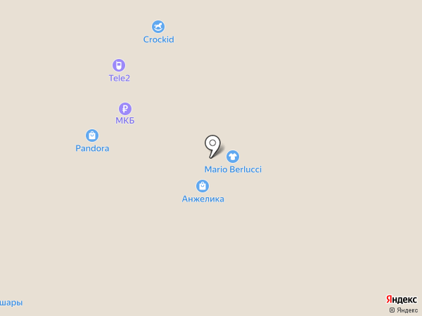 Russo на карте Люберец