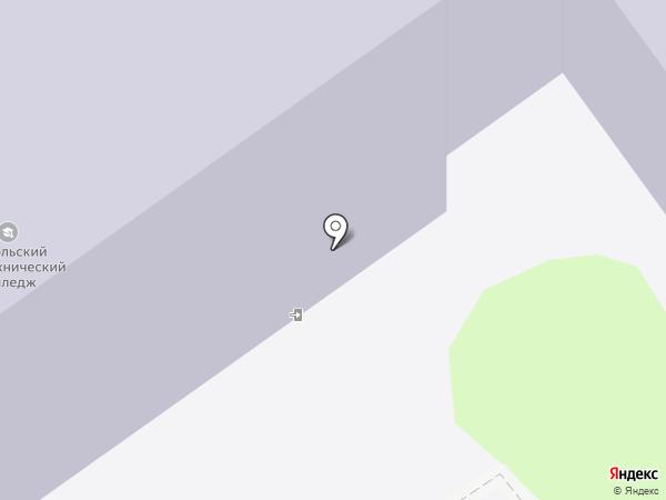 Оскольский политехнический колледж на карте Старого Оскола