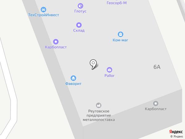 Корвет-К на карте Реутова