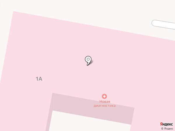 Новая диагностика на карте Ясиноватой