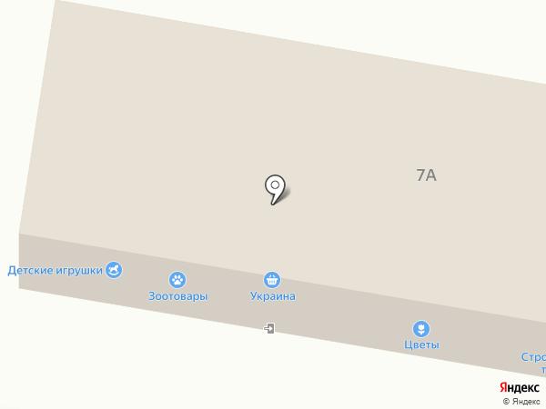 Украина, многопрофильный магазин, СПД Кранчанинов И.Н. на карте Ясиноватой