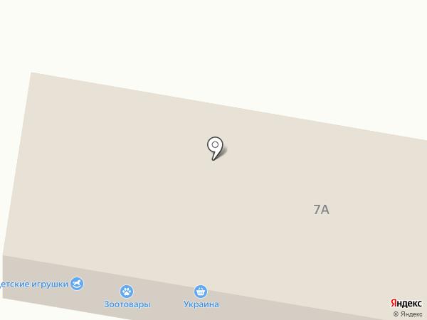 Продуктовый магазин на ул. 102-й квартал (г. Ясиноватая) на карте Ясиноватой