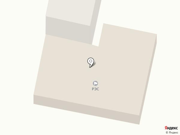 Ясиноватский РЭС на карте Ясиноватой