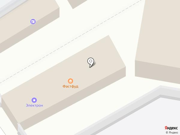 Электрон на карте Старого Оскола