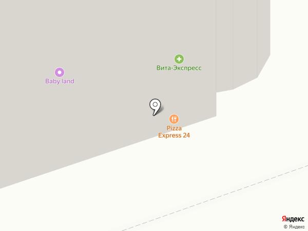 7 Берез на карте Реутова