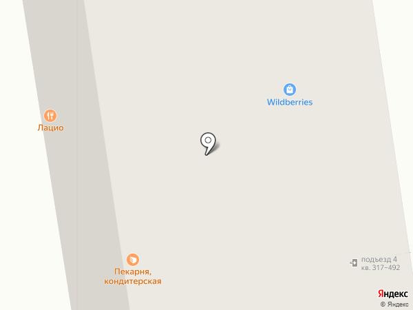 Новогиреевский на карте Балашихи
